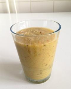 kiwi mandarijn ananas smoothie