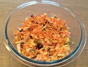 Witlof wortel salade